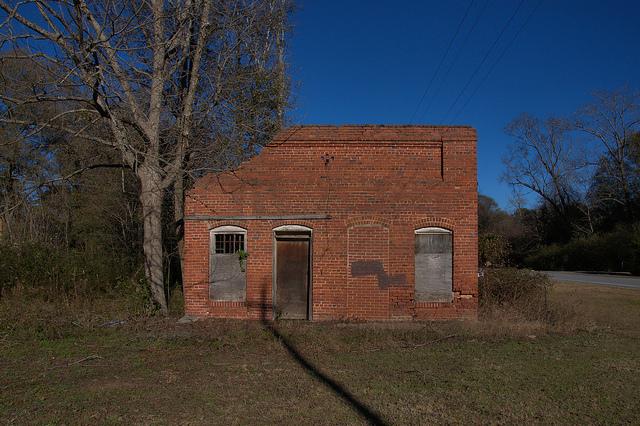 nevils ga commercial ruins photograph copyright brian brown vanishing south georgia usa 2014
