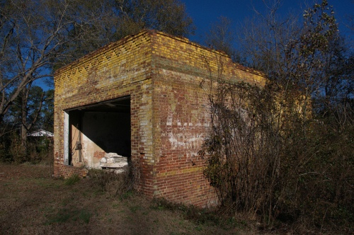 nevils ga general store ruins photograph copyright brian brown vanishing south georgia usa 2014