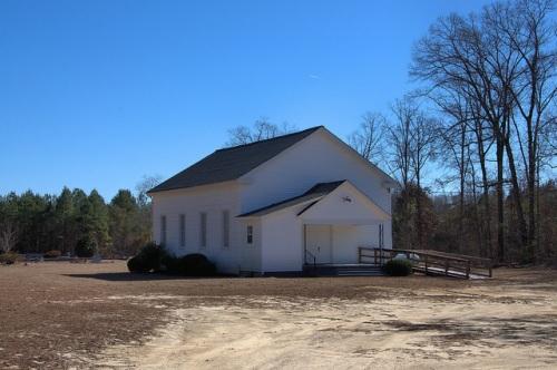 Parkers Methodist Church Jefferson County GA Photograph Copyright Brian Brown Vanishing South Georgia USA 2014