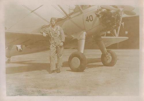 Airman 1st Class John S Hancock 63rd Flight Training School Douglas GA Municipal Airport WW II 1944 Copyright Vanishing South Georgia USA 2014