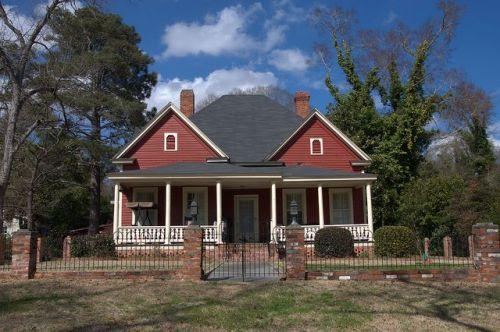 historic hawkinsville ga samuel smith house photograph copyright brian brown vanishing south georgia usa 2014