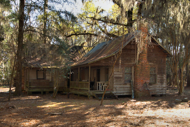 Hunting cabins emanuel county vanishing south georgia for Log cabin home plans georgia