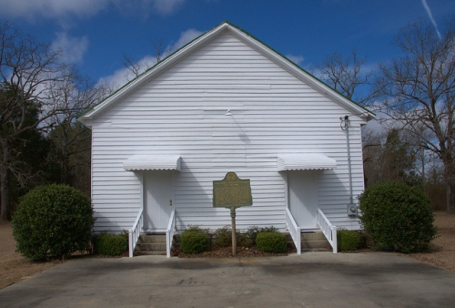 Longstreet Methodist Church Antebellum Landmark Bleckley County GA Photograph Copyright Brian Brown Vanishing South Georgia USA 2014