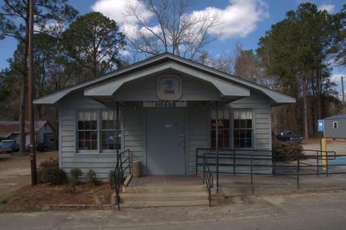 Nunez GA Emanuel County United States Post Office 30448 Photograph Copyright Brian Brown Vanishing South Georgia USA 2014