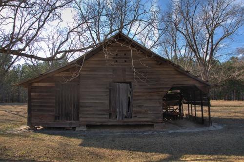 Old Barn Emanuel County GA Photograph Copyright Brian Brown Vanishing South Georgia USA 2014