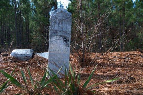 Silas Coleman Headstone Ex Slave Irwin County GA Photograph Copyright Brian Brown Vanishing South Georgia USA 2014
