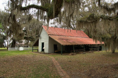 Hofwyl Broadfield Plantation Glynn County GA Commissary Photograph Copyright Brian Brown Vanishing South Georgia USA 2014