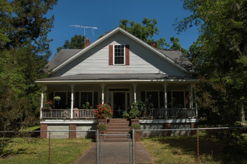 Cherrywood House Guyton GA Effingham County GA Photograph Copyright Brian Brown Vanishing South Georgia USA 2014