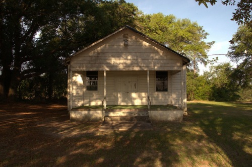 Abandoned African American Church Lax GA Irwin County Photograph Copyright Brian Brown Vanishing South Georgia USA 2014