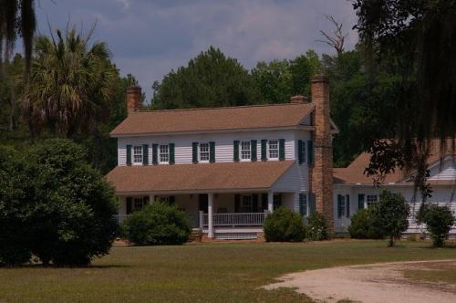 Joyce McArthur House Oldest in Tattnall County GA Landmark Photograph Copyright Brian Brown Vanishing South Georgia USA 2014