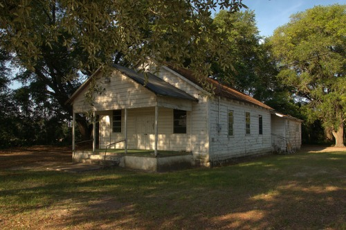 Old African American Church Lax GA Irwin County Rural Southern Religion Photograph Copyright Brian Brown Vanishing South Georgia USA 2014