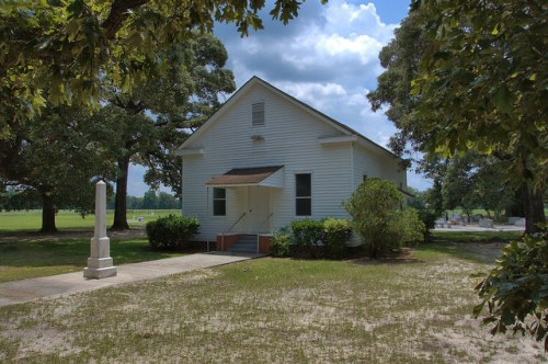 Mt. Carmel Methodist Church Oldest in Tattnall County GA Photograph Copyright Brian Brown Vanishing South Georgia USA 2014
