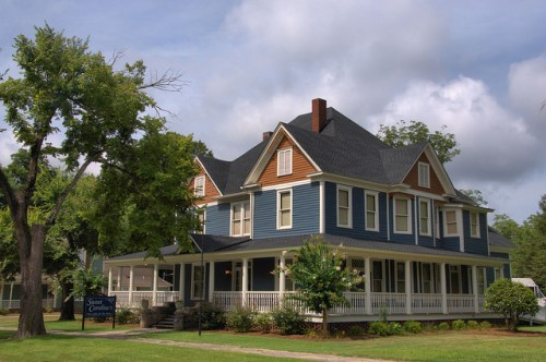 FItzgerald GA Historic District Bowen Sheppard House Photograph Copyright Brian Brown Vanishing South Georgia USA 201