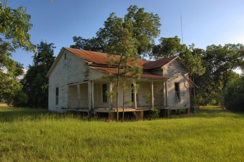 Owensboro GA Wilcox County Brown Farm House Vernacular Architecture Photogrpah Copyright Brian Brown Vanishing South Georgia USA 2014