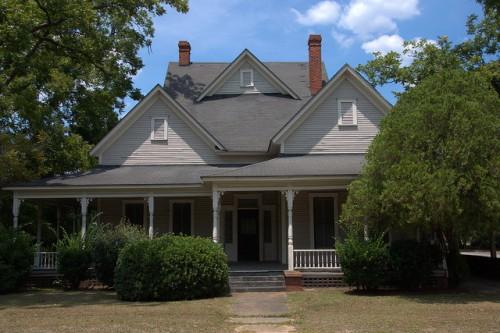 Pearson GA Atkinson County Folk Victorian Architecture Photograph Copyright Brian Brown Vanishing South Georgia USA 2014