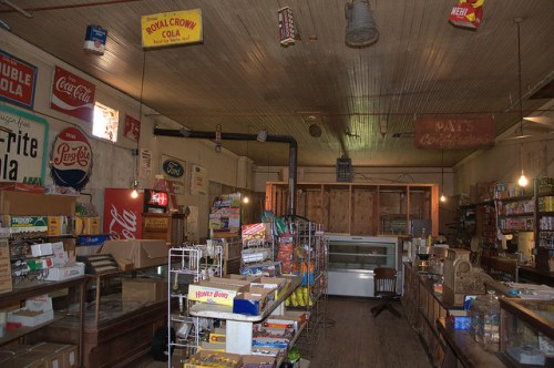 C F Hays & Sons General Store Musella GA Crawford County Landmark Country Store Photograph Copyright Brian Brown Vanishing South Georgia USA 2014