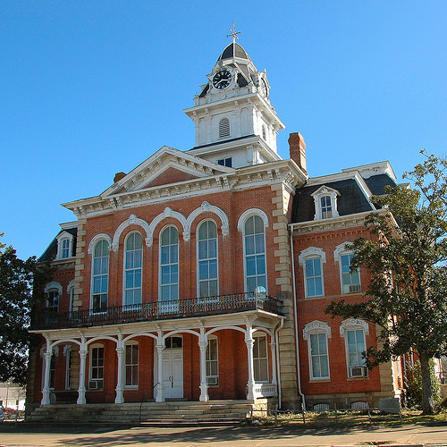 Hancock County Courthouse Sparta GA Destroyed By Fire August 2014 Photograph Copyright Brian Brown Vanishing North Georgia USA 2014