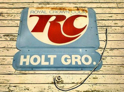 holt ga rc sign photograph copyright brian brown vanishing south georgia usa 2014