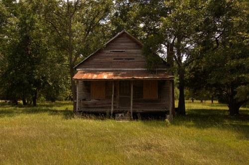 Kirkland GA Atkinson County Old Store Building Photograph Copyright Brian Brown Vanishing South Georgia USA 2014