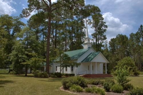 Kirkland United Methodist Church Atkinson County GA Photograph Copyright Brian Brown Vanishing South Georgia USA 2014