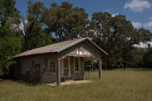 L B Pollock Store Mitchell County GA Photograph Copyright Brian Brown Vanishing South Georgia USA 2014