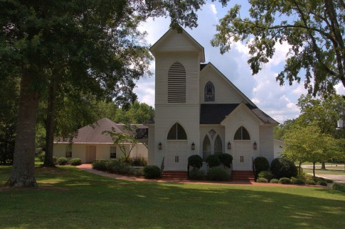 Musella Baptist Church Crawford County GA Photograph Copyright Brian Brown Vanishing South Georgia USA 2014