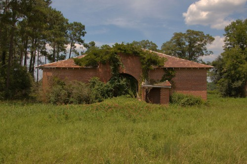 Old Kirkland School Atkinson County GA Photograph Copyright Brian Brown Vanishing South Georgia USA 2014