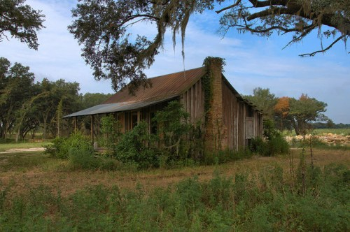 Tenant Farmhouse Rio Piedra Plantation Mitchell County GA Photograph Copyright Brian Brown Vanishing South Georgia USA 2014