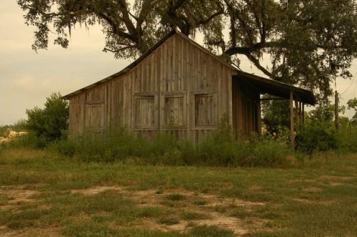 Tenant Farmhouse Rio Piedra Plantation Mitchell County GA Wooden Window Shutters Photograph Copyright Brian Brown Vanishing South Georgia USA 2014