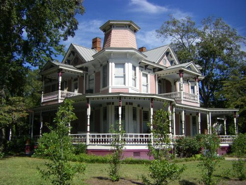tifton-ga-e-l-vickers-carson-house-high-victorian-landmark-photograph-copyright-brian-brown-vanishing-south-georgia-usa-2009