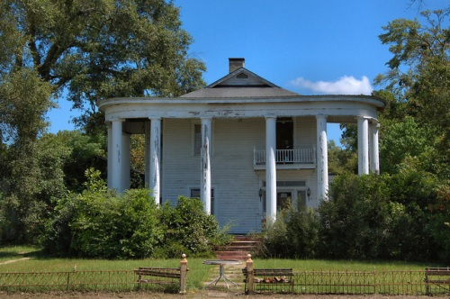 Hazlehurst GA Dr Samuel Martin House Photograph Copyright Brian Brown Vanishing South Georgia USA 2014