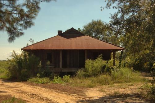Abandoned Farmhouse Turner County GA Photograph Copyright Brian Brown Vanishing South Georgia USA 2014