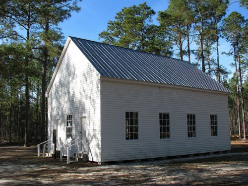 Atkinson County GA Historic Salem Church Photograph Copyright Brian Brown Vanishing South Georgia USA 2014