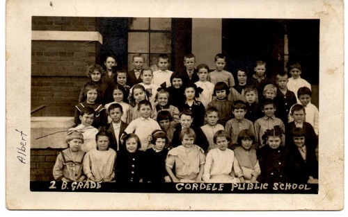 Cordele Public School GA Circa 1912 2nd Grade Itinerant Photographer Real Photo Postcard Collection of Brian Brown Vanishing South Georgia USA 2014