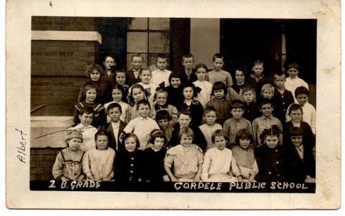 Cordele Public School GA Circa 1912 2nd Grade Itinerant Photographer Real Photo Postcard Collection of Brian Brown Vanishing South Georgia USA 2014