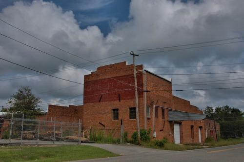 Dixie Peanut Company Fitzgerald GA Ben Hill County Photograph Copyright Brian Brown Vanishing South Georgia USA 2014