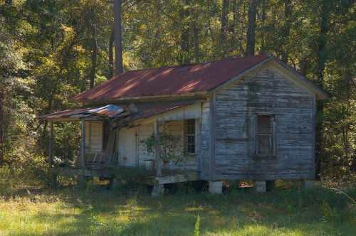 Durdenville GA Emanuel County Vernacular House Cabin Photograph Copyright Brian Brown Vanishing South Georgia USA 2014