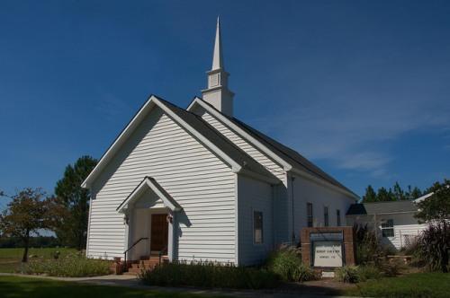 Inaha Baptist Church Turner County GA Photograph Copyright Brian Brown Vanishing South Georgia USA 20143