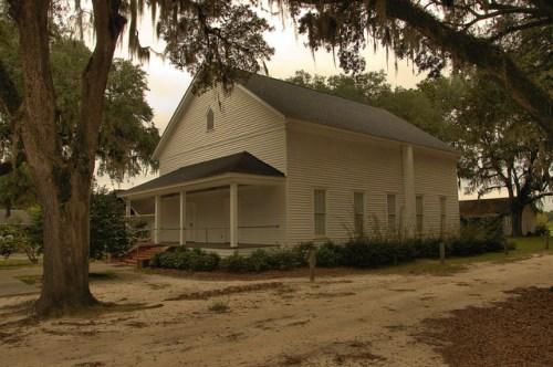 Rye Patch Baptist Church Long County GA Photogaph Copyright Brian Brown Vanishing South Georgia USA 2014