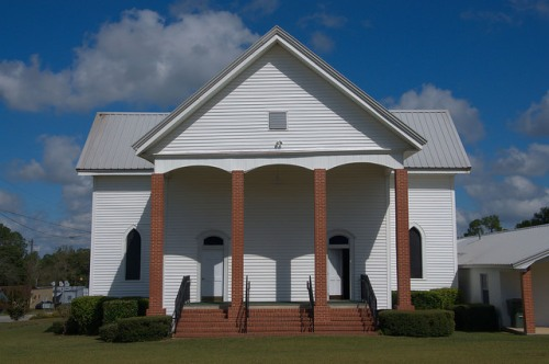 Stillmore Missionary Baptist Church Emanuel County GA Photograph Copyright Brian Brown Vanishing South Georgia USA 2014