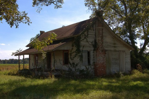 Sunsweet GA Tift County Abandoned Clapboard Farm House Photograph Copyright Brian Brown Vanishing South Georgia USA 2014