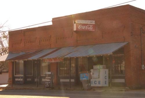 Bob and Bob Grocery Store Gough GA Photograph Copyright Brian Brown Vanishing South Georgia USA 2014