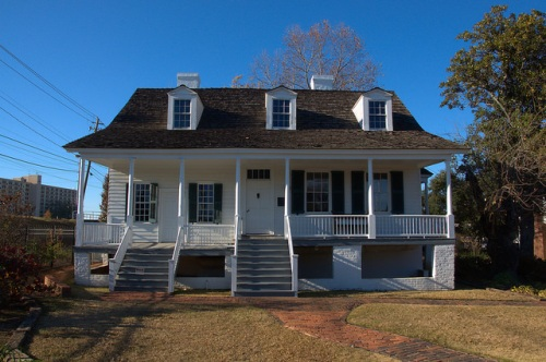 George Walton Signer of the Declaration of Independence Meadow Garden House Augusta GA 18th Century Photograph Copyright Brian Brown Vanishing South Georgia USA 2014