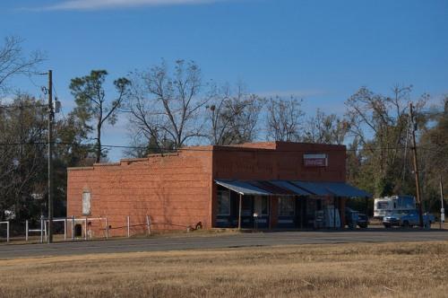 Gough GA Burke County Bob Bobs Grocery Store Landmark General Store Photograph Copyright Brian Brown Vanishing South Georgia USA 2014