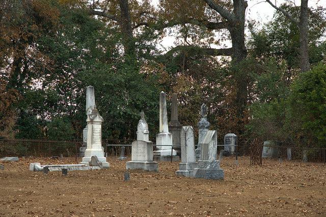 Historic Bark Camp Baptist Church Cemetery Burke County GA Photograph Copyright Brian Brown Vanishing South Georgia USA 2014