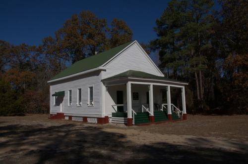 Historic Clarks Chapel M E Church Burke County GA Photograph Copyright Brian Brown Vanishing South Georgia USA 2014