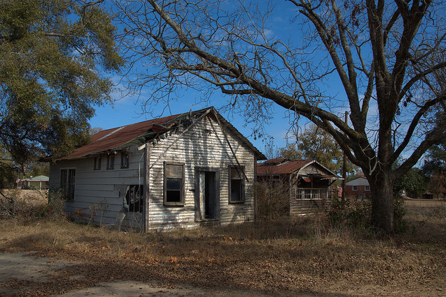 Jefferson County GA Abandoned Country Stores Photograph Copyright Brian Brown Vanishing South Georgia USA 2014