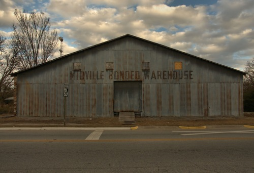 Midville GA Burke County Bonded Warehouse Photograph Copyright Brian Brown Vanishing South Georgia USA 2014