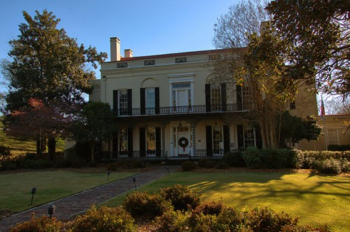 Old Government House Augusta GA Photograph Copyright Brian Brown Vanishing South Georgia USA 2014