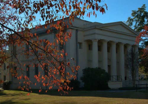 Old Medical College of Georgia Augusta GA Photograph Copyright Brian Brown Vanishing South Georgia USA 2014